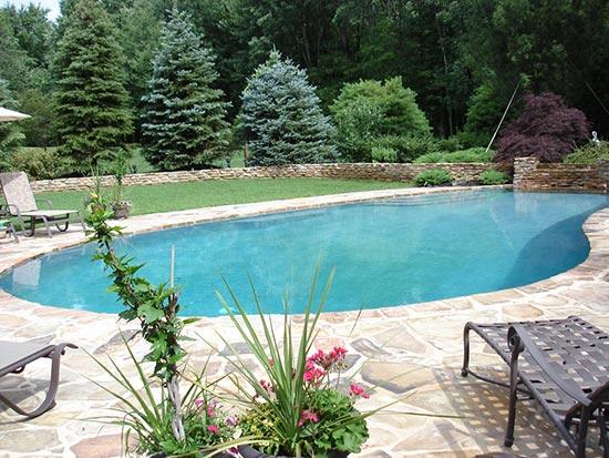 Indigo Pool Designs Gladwyne Pool Restoration Pa 19035