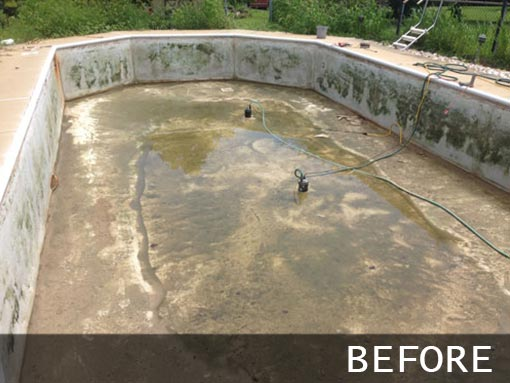 Washington Crossing Pool Repair
